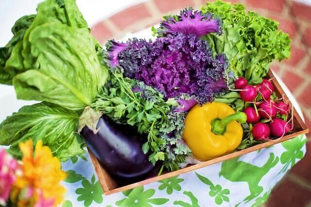 Att äta mycket grönsaker är ett sätt att gå ner i vikt