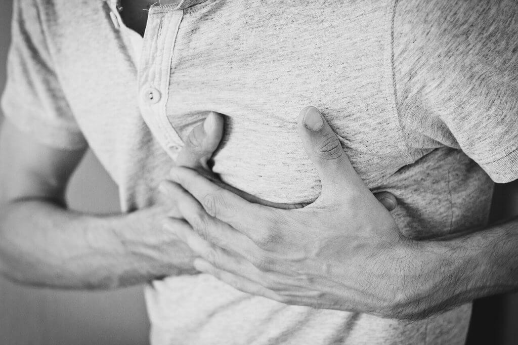 En ångest attack kan ofta initialt misstas för hjärtproblem, hjärtinfarkt, hjärtattack