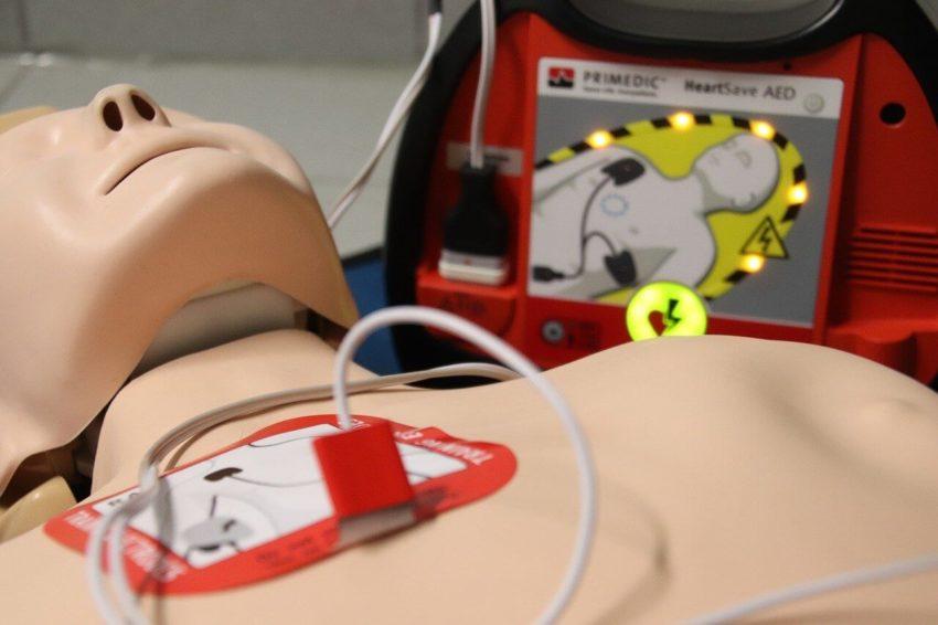 Hjärtstartare HLR Hjärt Lungräddning